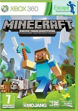Minecraft Xbox 360 Game New and Sealed Official PAL Pegi 7