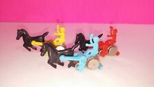 Sunny Toys Horse Harness Racing Game Japan 1970s Horse Part Lot