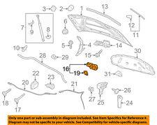 VW VOLKSWAGEN OEM 10-14 Golf/R32/GTI/Rabbit/Sport Wagen Hood-Lock 5K1823509A