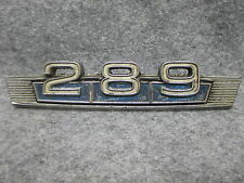 1967-1969 68 Ford Fairlane & Bronco 289 Fender Emblem PN C70B-16237-A OEM 21246