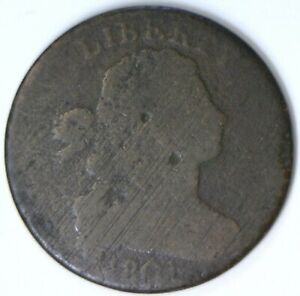1801 Draped Bust Large Cent; AG; No Reserve!