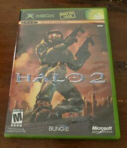Microsoft Halo 2 (2004) Original XBOX Video Game Complete In Box