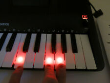 Ion Piano Apprentice 25 Key Lighted Keyboard For iPad iPhone iPod Power Adap Inc