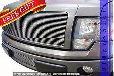 GTG 2009 - 2012 Ford F150 2PC Polished Billet Grille Grill Insert Kit