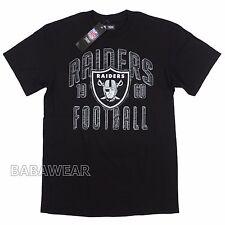 Raiders Medium T-Shirt NFL Oakland Black Pencil Drawing effect Football 1960