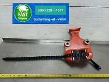 Ridgid Bc 6a Top Screw Chain Pipe Vise For Your Threader