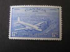 CANADA, SCOTT # CE3, 17c. VALUE BRIGHT ULTRA 1943 AIR POST SPECIAL DC-4  MNH