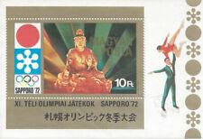 WINTER OLYMPICS: Hungary 1972 at Saporo, Japan & 1980 Paraguay, Lake Placid, US