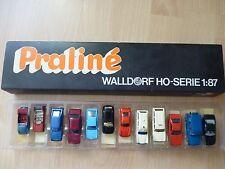 HO - Praline Walldorf - 12 diverse Autos