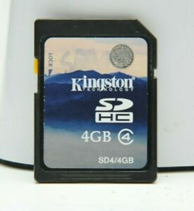 Kingston 4GB SD SDHC Memory Card for Canon Rebel T3 T5 T7