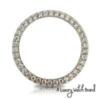 For Rolex Datejust Ladies 26mm Diamond U-Setting Bezel Approximate 1.30ctw