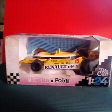 Modellino DIE CAST Polistil F1 Tonka Renault RE 30 1/24 Giallo