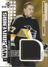 2002-03 Upper Deck MVP Souvenirs Jerseys #SAK Alexei Kovalev Jersey - NM-MT
