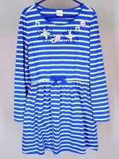 Gymboree Bluebell Stripe Dress Sz 7 8 Girls Fall Winter Mix Match