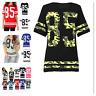 Ladies  Women 85 Varsity T-shirt American Football Baseball Jersey Top Plus Size