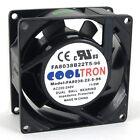 220V / 230V / 240V AC Cooling Fan. 80mm x 38mm HS (HS8038B)