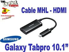 "Cable MHL HDMI para tablet Samsung Galaxy Tabpro 10.1"" Sm-t520"