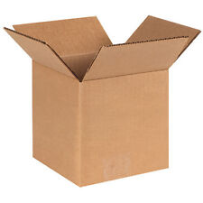 6x6x6 (50) Carboard Shipping Boxes Packing Corrugated Cartons