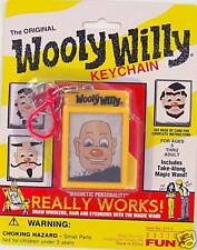 WOOLY WILLY Keychain Keyring classic toy Basic Fun Retired Retro Willie NEW
