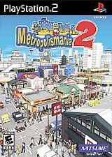 BRAND NEW SEALED PS2 City Game -- Metropolismania 2 (Sony PlayStation 2, 2007)