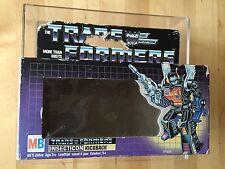Transformers G1 1984 MB BOMBSHELL BOX (empty) Milton Bradley EUROPEAN