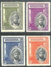 Zanzibar 1936 Silver Jubilee set mint SG323/324/325/326 (4)