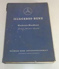 Taller de manual de mercedes benz 170 V/170 s/170 d w136, original stand 1951
