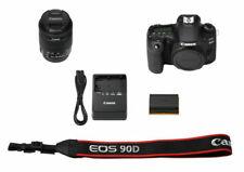 Canon EOS 90D 32.5MP DSLR Camera + EF 50mm f/1.8 STM Lens (Single Kit) - Black