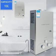 10 Liter Tragbarer Gas Durchlauferhitzer Campingdurchlauferhitzer Dusche 20KW