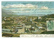 Vintage Postcard 1904 Venezuela Caracas Panoramic Castro Avenue Posted USA