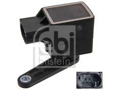 FEBI Sensor Xenonlicht (Leuchtweiteregulierung) Hinterachse für  BMW 586687