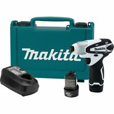 "MAKITA DT01W NEW 12V Max Lithium-Ion 12 Volt 1/4"" Cordless Impact Driver Kit"