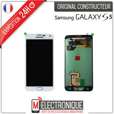 ECRAN LCD BLANC ORIGINAL SAMSUNG GALAXY S5 G900 / G901