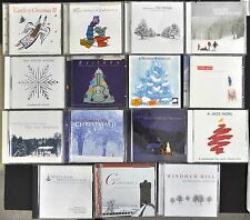 Windham Hill Christmas 15 CD Lot Carols Guitar Jazz Celtic Gifts Wonderland Prom