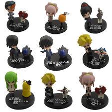 Cute! Code Geass C.C. PVC Figure Set Of 9 Pcs No Box