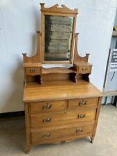 Pine Post - 1950 Time Period Manufactured Antique Antique
