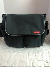 Skip Hop Duo Gray Diaper Bag 11.5x14