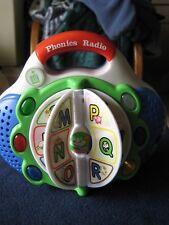 LeapFrog ~ Phonics Radio ~ Educational Alphabet Music Kids Play Toy