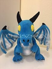 Blizzcon 2016 World of Warcraft Azure Blue Whelpling Plush Dragon Pet - Variant