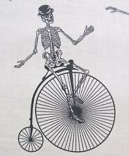 Chillingsworth Bicycle Race Natural Skeleton Bike Echo Park Andover Fabric Yard