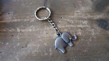 Pewter Elephant Key Chain