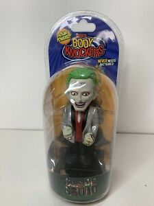 "NECA Suicide Squad The Joker Body Knocker Toy 6"" Figure Solar Powered NEW"