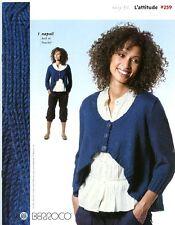 Berroco L'attitude #259 Knitting Pattern Book 7 Designs for Women