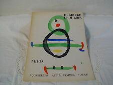 DERRIERE LE MIROIR N° 169 DECEMBRE 1967 - MIRO