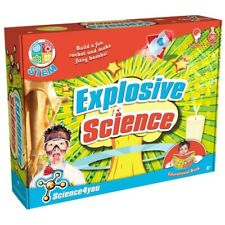 Science4you Explosive Science - 28 Experiments inc Ingredients and Instruction