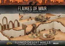 Ruined Desert Walls - Contains 10 Walls - BB229 Flames of War