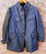 Vareuse Veste Sous Officier Bleu Horizon ORIGINAL WWI 1914-1918 Uniforme France