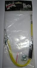 SAVAGE BMX UPPER Gyro Rotor Yellow Brake Cable Dual Cycle Bike Old School 119