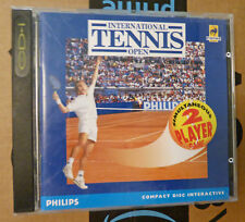 International Tennis Open cdi game nice condition, complete CD-I