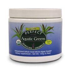 Perfect Aquatic Greens Spirulina & Chlorella ~ Powder